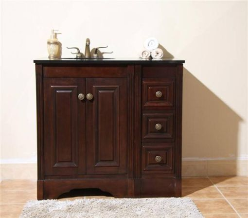 design a small 36 bathroom vanity with top