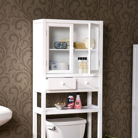 space saver bathroom cabinet