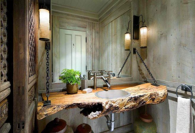 Perfect 5 Ways Use Washbasin In Rustic Bathroom Decor Pictures