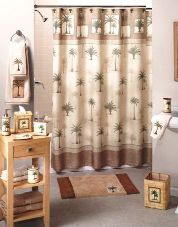 Palm Bathroom Decor Tree D 233 Cor For Those Who Prefer Never Come