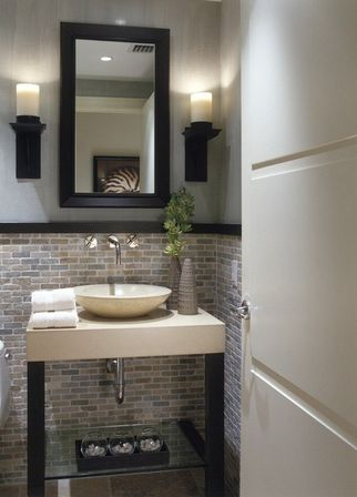 5 ways making half bathroom remodel bathroom designs ideas for Half bath remodel ideas