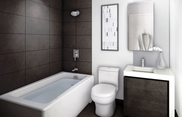 Easy Bathroom Remodel Ideas the inexpensive bathroom remodel with wc and without | bathroom