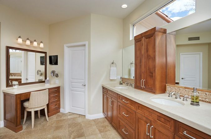 Guest bathroom remodel before u after guest bathroom remodel u amber interiors with guest - Guest bathroom remodel designs ...