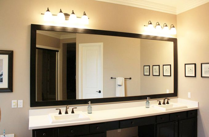 Custom bathroom mirrors main rules and benefits for Custom made mirrors for bathrooms