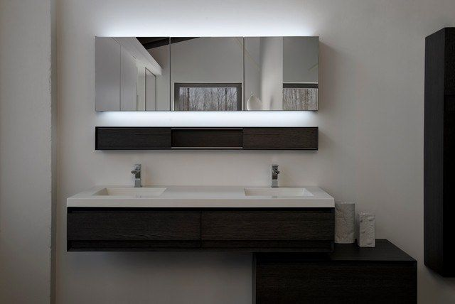 Contemporary Bathroom Mirrors For Stylish Interiors