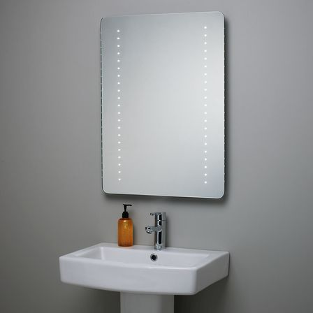 Bathroom Mirrors Houston Tx led bathroom mirror: the best solution in the interior | bathroom