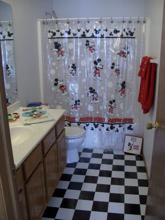 Mickey mouse bathroom ideas mickey mouse bathroom decor girls bathroom pinterest mickey mouse - Mickey mouse bathroom accessories ...
