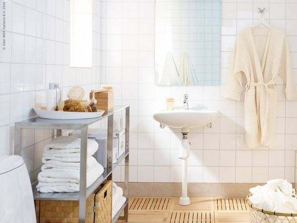 6 Ideas from IKEA for comfort in the bathroom | Bathroom designs ideas