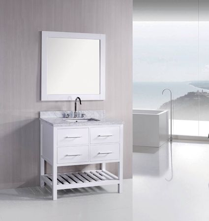 36 white bathroom vanity bathroom designs ideas for Bathroom ideas vanity