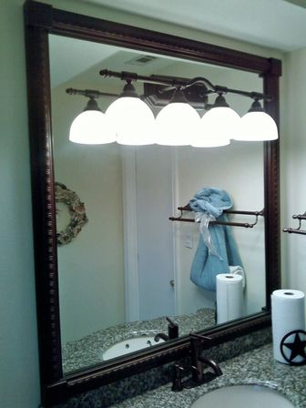Bathroom Mirrors Bronze oil rubbed bronze an element of interior design | bathroom designs