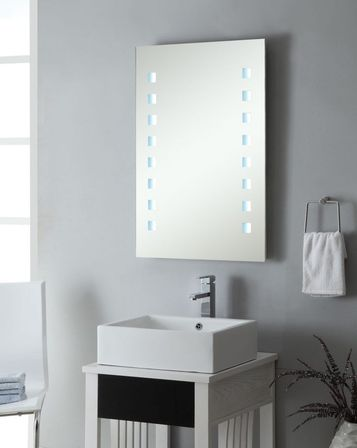 Amazing Lunar Backlit Bathoom Mirrors on the Modern Bathroom design