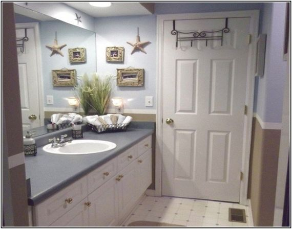 What should be the lighting  The interior of any nautical themed bathroom  decor. Making nautical bathroom d cor by yourself   Bathroom designs ideas