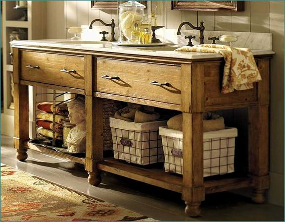 Bathroom vanities country style