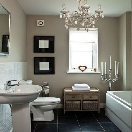 10 ideas use sink in country bathroom decor bathroom for Art for bathroom ideas
