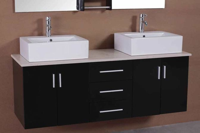 Double Sink Bathroom Vanity 72 60 48 Inch Photo Bathroom Designs Ideas
