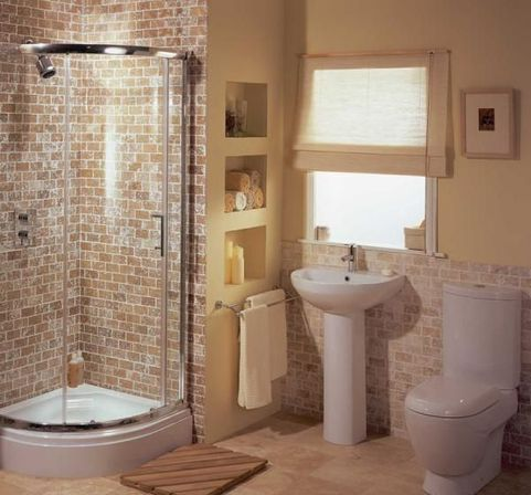 10 visually increase the space in the cheap bathroom Cheap bathroom remodel