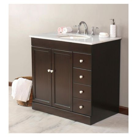 Cheap bathroom vanities with tops 7 tips bathroom designs ideas for Inexpensive bathroom vanity ideas