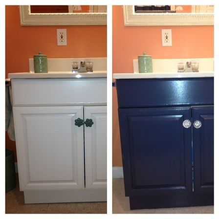 Painting bathroom cabinet 14 photo bathroom designs ideas Paint bathroom cabinets