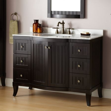 Ways to choose 48 inch bathroom vanity bathroom designs for Bathroom 48 inch vanity