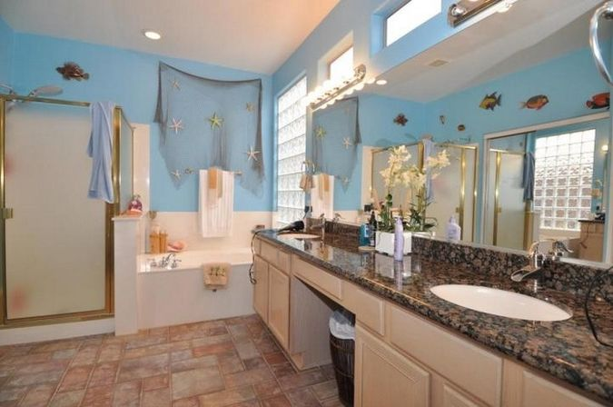 Seashore Bathroom Decor: Seashell Bathroom Decor: 2 Types, 30 Photo