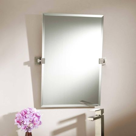 brushed nickel bathroom mirror. 4 important aspects  1 Different shape different effect Selecting brushed nickel bathroom mirror Brushed what customers should know