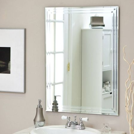 Small bathroom mirrors and big ideas for interior small for Bathroom wall mirrors