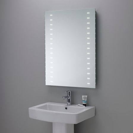 Bathroom Mirrors Led led bathroom mirror: the best solution in the interior | bathroom