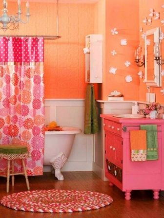 Cute bathroom decor and it 39 s interior features bathroom for Cute bathroom sets