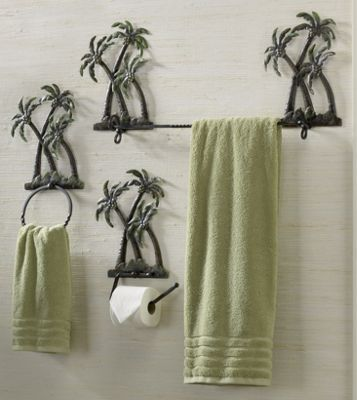 So You Can Definitely See That By Choosing Palm Tree Bathroom Decor Get A M