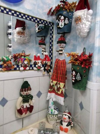 Christmas bathroom decor target : Christmas bathroom decor types photo and ideas