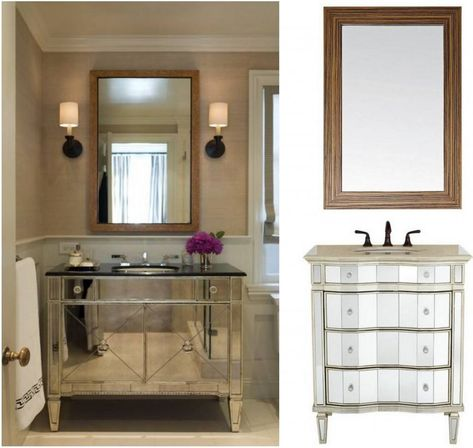 vanity mirrors for bathroom - Bathroom Cabinets And Mirrors