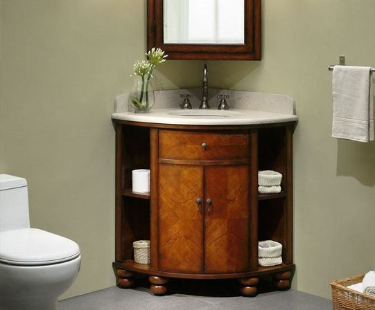 Corner bathroom vanity Bathroom designs ideas