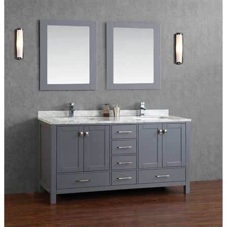 Grey bathroom vanity 12 photo bathroom designs ideas - Guide on bathroom vanities designs ...