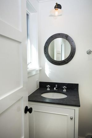 nautical bathroom mirror special aspects of the sea style