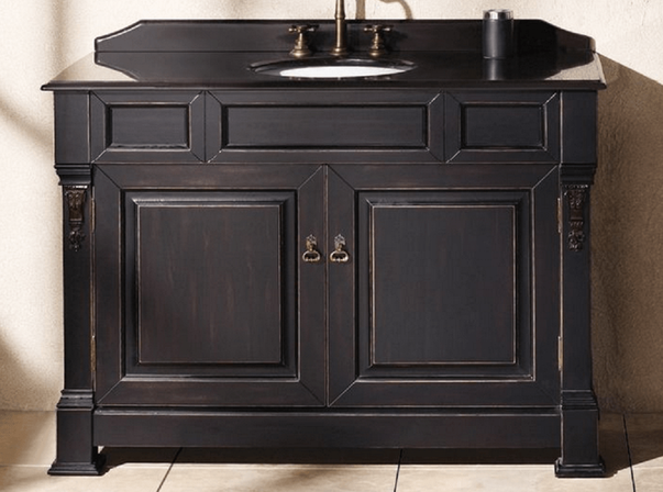 ways to choose 48 inch bathroom vanity