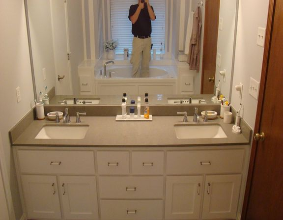 Custom bathroom vanities top tips for womans bathroom for Custom bathroom ideas