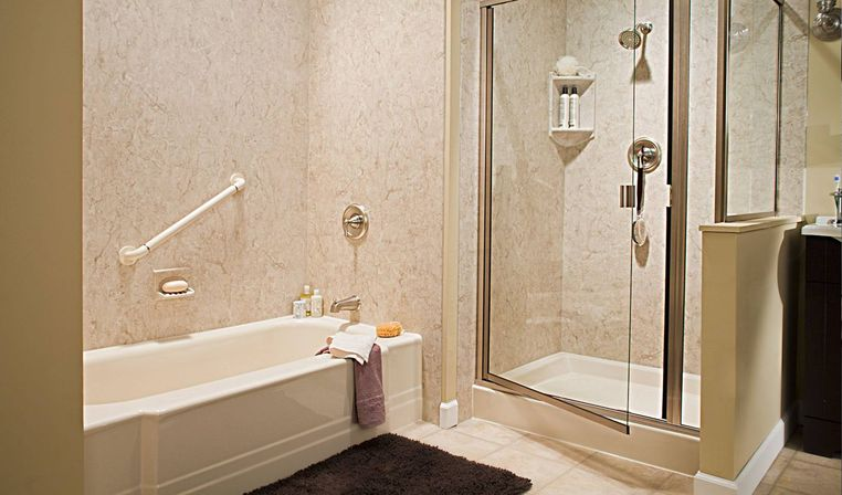 How to make one day bathroom remodel bathroom designs ideas for Bath remodel one day
