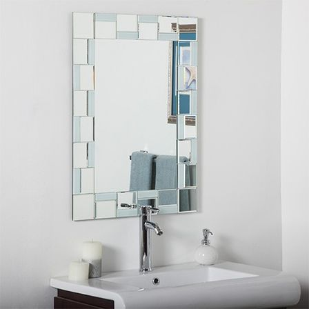 Bathroom mirror dimensions - Contemporary Bathroom Mirrors For Stylish Interiors
