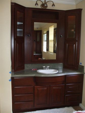 Custom bathroom vanities top tips for womans bathroom for Custom bathrooms