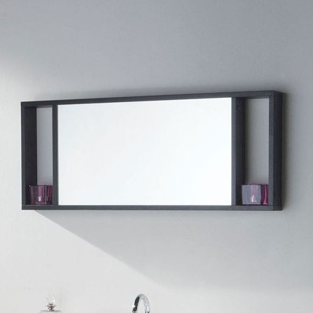 Black bathroom mirror how to make cozy interior for Bathroom designs mirrors