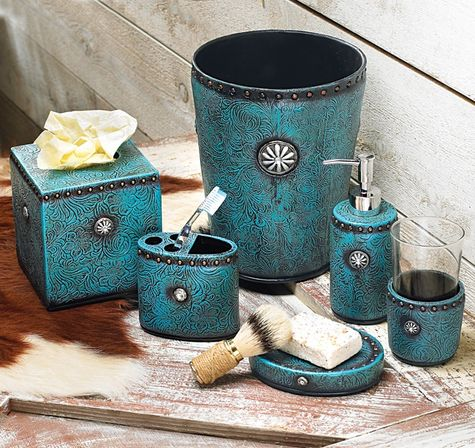 Turquoise bathroom decoration as the most popular bathroom for Turquoise bath accessories