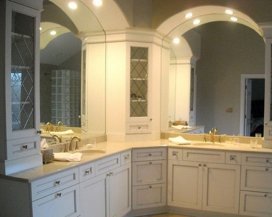 Corner bathroom cabinet top fotos bathroom designs ideas for Bathroom cabinet designs photos