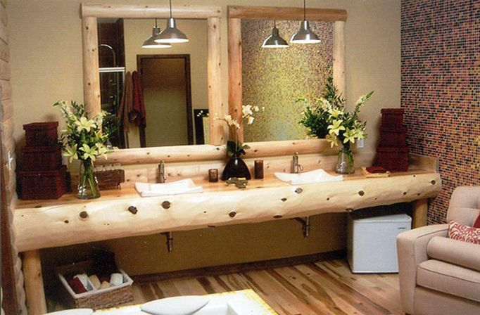 Rustic bathroom vanities most top photo 14 bathroom for Vanity bathroom ideas