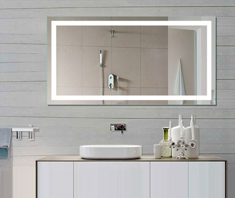 Concepts for bathroom mirrors pros and cons bathroom designs ideas - Backlit Bathroom Mirror From Designer S Tips To Own