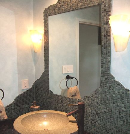 Unique bathroom mirrors how to make the greatest interior for Unique small bathroom designs