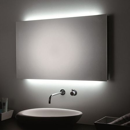 Brilliant  Mirror Bathroom Light How To Pick A Modern Bathroom Mirror With Lights