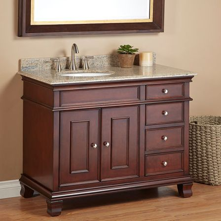 8 ways for 42 inch bathroom vanity repairs bathroom for Bathroom cabinets 80cm wide