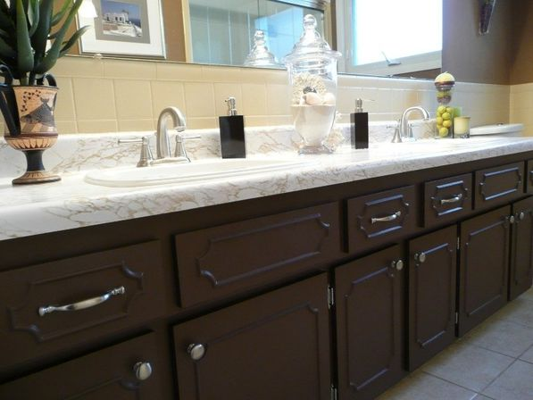 Painting bathroom cabinet 14 photo bathroom designs ideas - Type of paint for bathroom cabinets ...