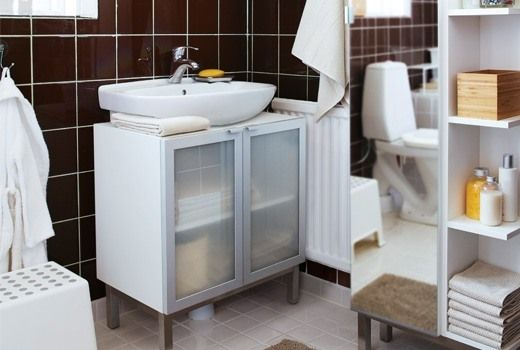 Beautiful Bathroom Base Cabinets