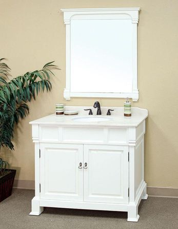 Wonderful Adler White Bathroom Vanity VAN066D60  Bathroom Vanities  Bath